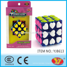 2015 Hot saling YJ Love cube Speed Cube Educational Toys English Packing for Promotion